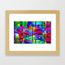 Folk art Framed Art Print