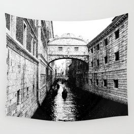 Bridge of Sighs, Venice.  Wall Tapestry