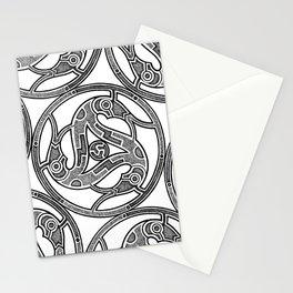 Dotwork Vendel Triskele Stationery Cards