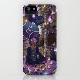 Modern Male Witch: Attic iPhone Case
