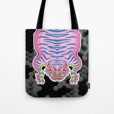 TIBETAN TIGER CANDY (black) Tote Bag