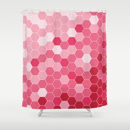 Bee in love Shower Curtain