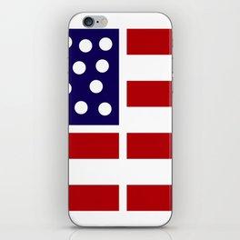 American design! USA flag #society6 #decor #buyart #artprint iPhone Skin