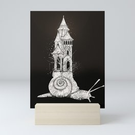 Ivory tower Mini Art Print