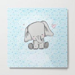 elephant tears Metal Print