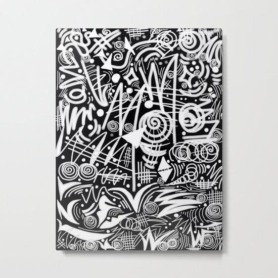 Chalk Board! Metal Print