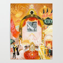 The Cathedrals of Broadway by Florine Stettheimer, 1929 Poster