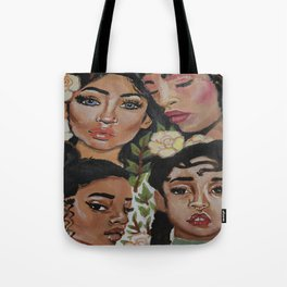Mysterious Beauties Tote Bag