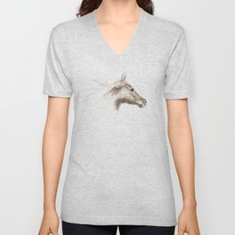 Horse II Unisex V-Neck