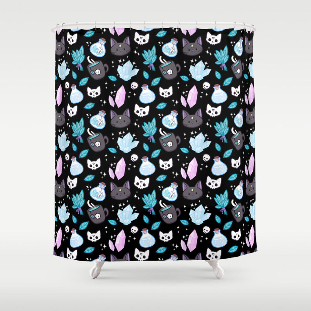 Cat Shower Curtains | Society6
