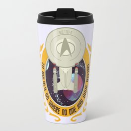 The Final Frontier Travel Mug