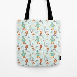 Mr. Roboto Tote Bag