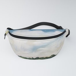 original abstract landscape painting number 6 Fanny Pack