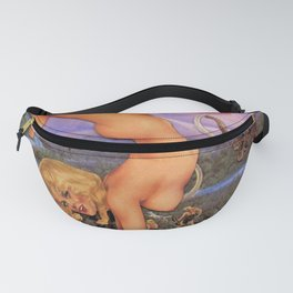 Wake Up Earth's Children  Fanny Pack