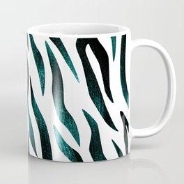 Here Kitty Kitty - Teal Coffee Mug