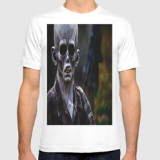 Unknown SMALL White Mens Fitted Tee