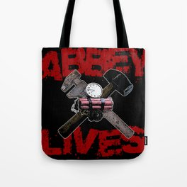 Edward Abbey Lives! Tote Bag