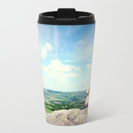 On Ilkley Moor Bah Tat Travel Mug