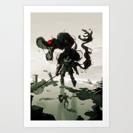 My First Souls Boss Art Print