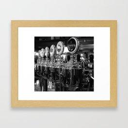 Draft beer Framed Art Print