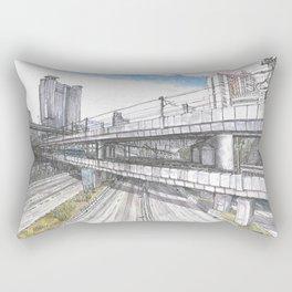 Hong Kong Highway Rectangular Pillow