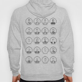 South American Authors Hoody