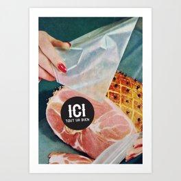 ICI tout va bien // 3 Art Print