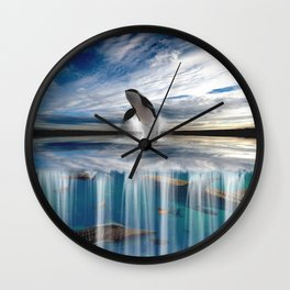 Beauty and the Beast. Wall Clock