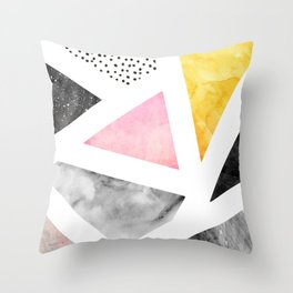 Calacatta Throw Pillow