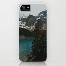 moraine natural blue iPhone Case