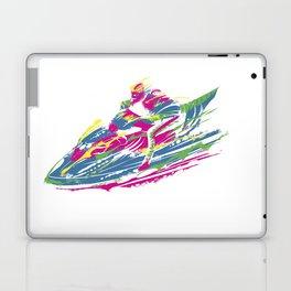 Jetski print Laptop & iPad Skin