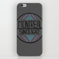 montreal iPhone & iPod Skins featuring Montreal by Aurelie