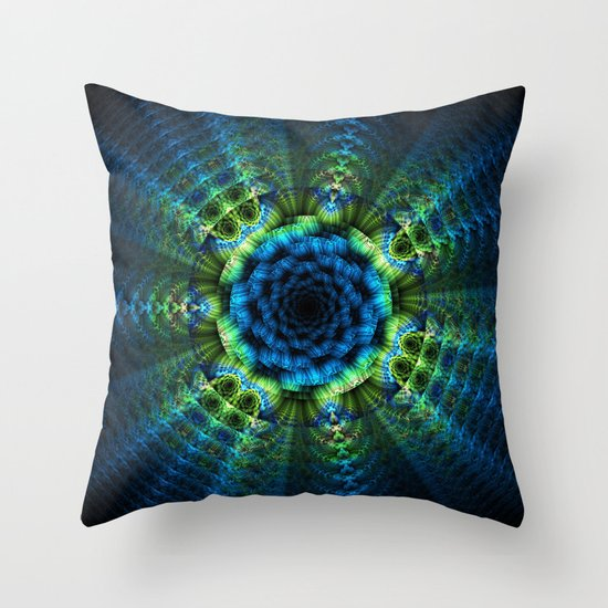 Bloom Blast Throw Pillow