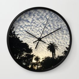 Stanyan Clouds Wall Clock