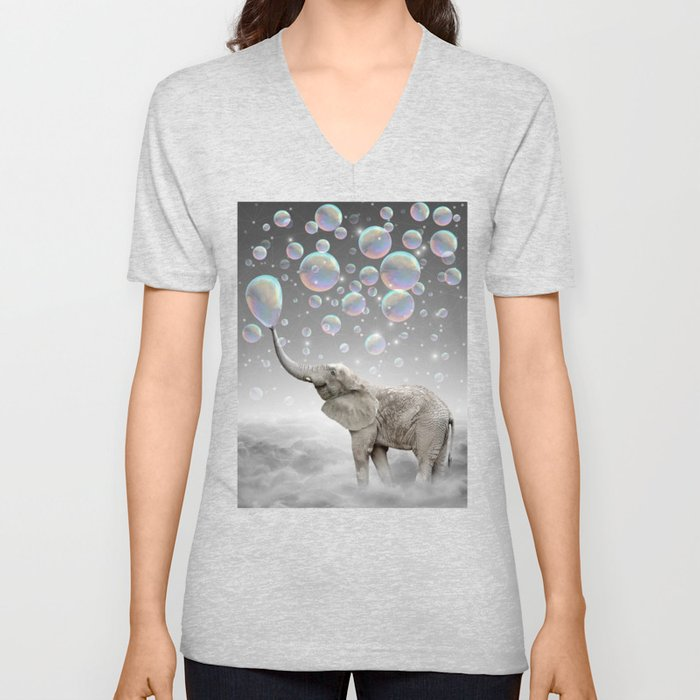 The Simple Things Are the Most Extraordinary (Elephant-Size Dreams) Unisex V-Neck