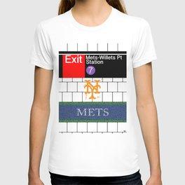 NYC Mets Subway T-shirt
