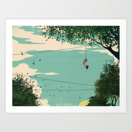 Michael Jordan ESPN Feature 3 Art Print