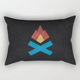 Campfire Rectangular Pillow