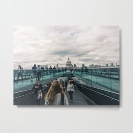 Lovely Lovely London Metal Print