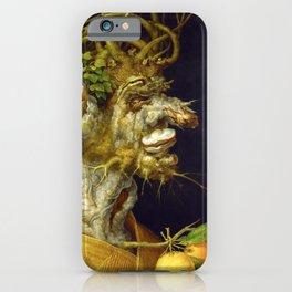 "Giuseppe Arcimboldo ""Four seasons - Winter"" iPhone Case"