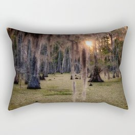 Witch's Hair at Sunrise on the Swamp Rectangular Pillow