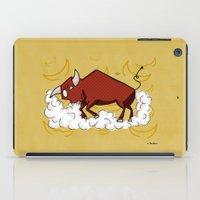 taurus iPad Cases featuring Taurus by Giuseppe Lentini