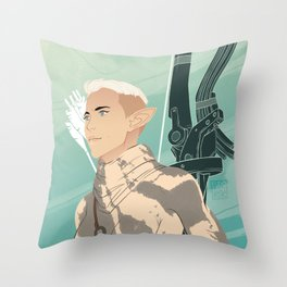 Nuala Lavellan Throw Pillow