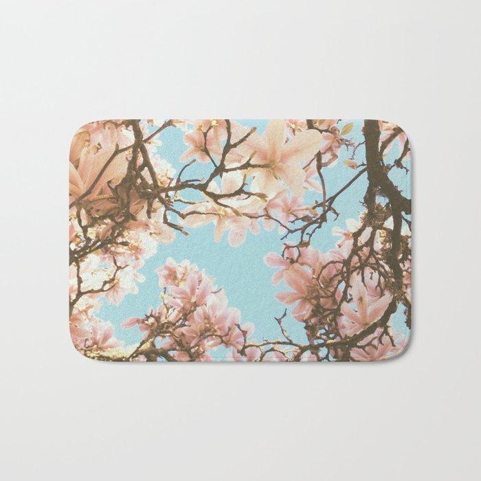 Pink Magnolia Bath Mat