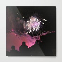Fireworks show Metal Print