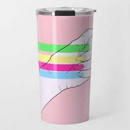 Feminist power Travel Mug