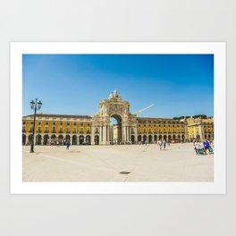 Praça do Comercio, Lisbon Art Print