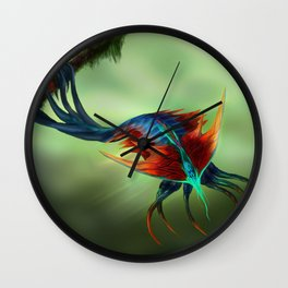 Trilobite Squid Wall Clock