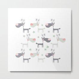 Dear deers Metal Print