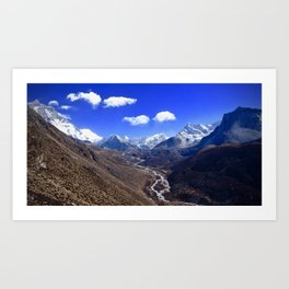 Himalayan Valley Art Print